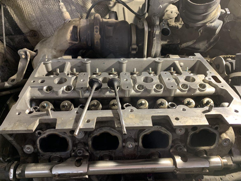 Ауди Q3 1.4L tsi 2014 ремонт двигателя.