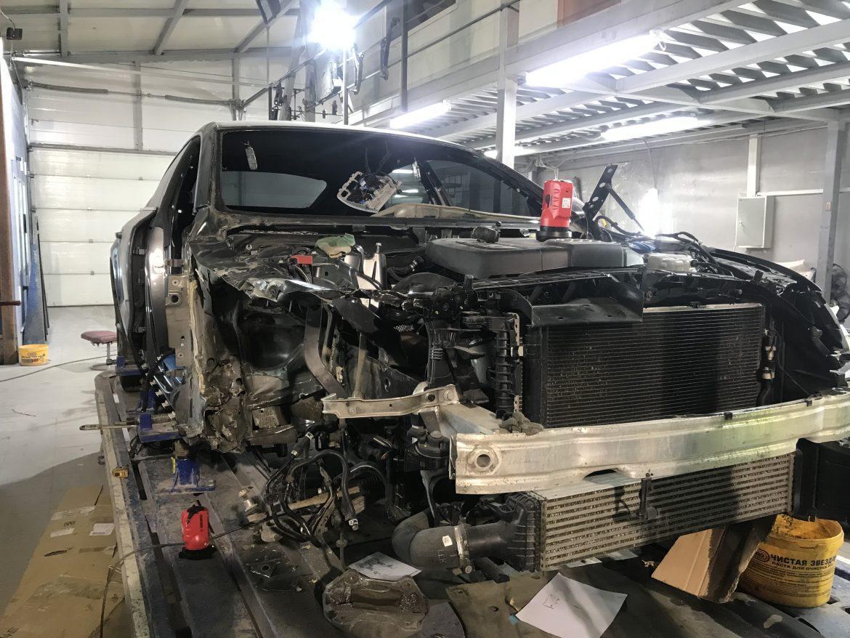 Ауди А7 2.0l tfsi 2016 кузовной ремонт