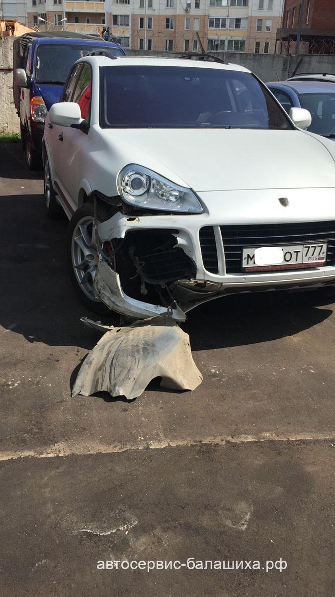Кузовной ремонт Порше Каен