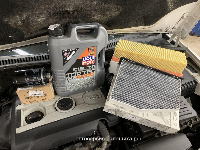 SEAT Leon 1,8 турбо. Проведение планового технического обслуживания