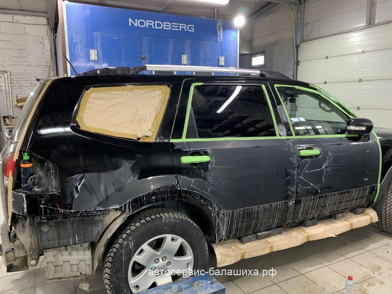 Кузовной ремонт KIA MOHAVE 2012 год 3.0 дизель