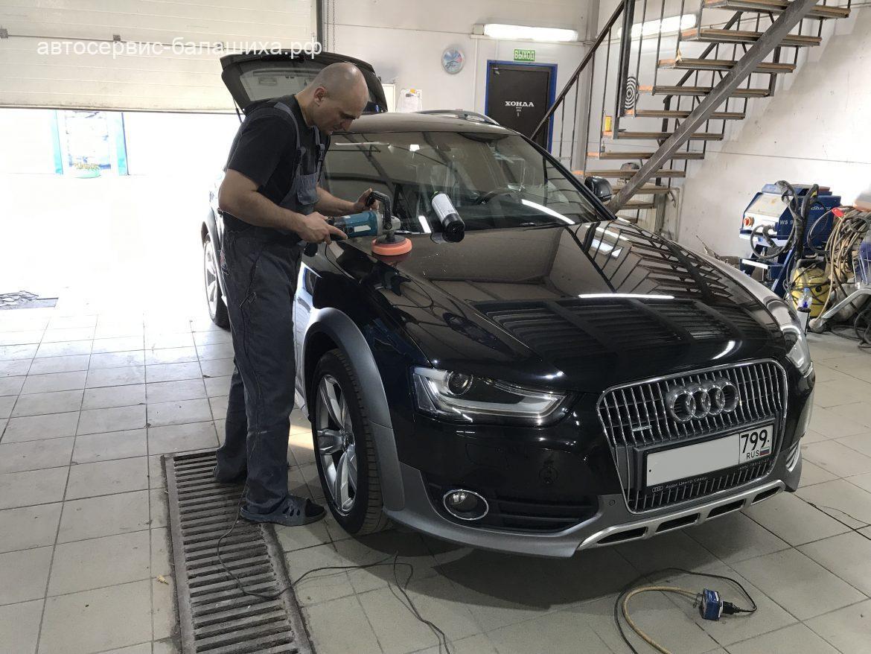 Audi A4 Allroad 2013г стапельные работы, ремонт крыла