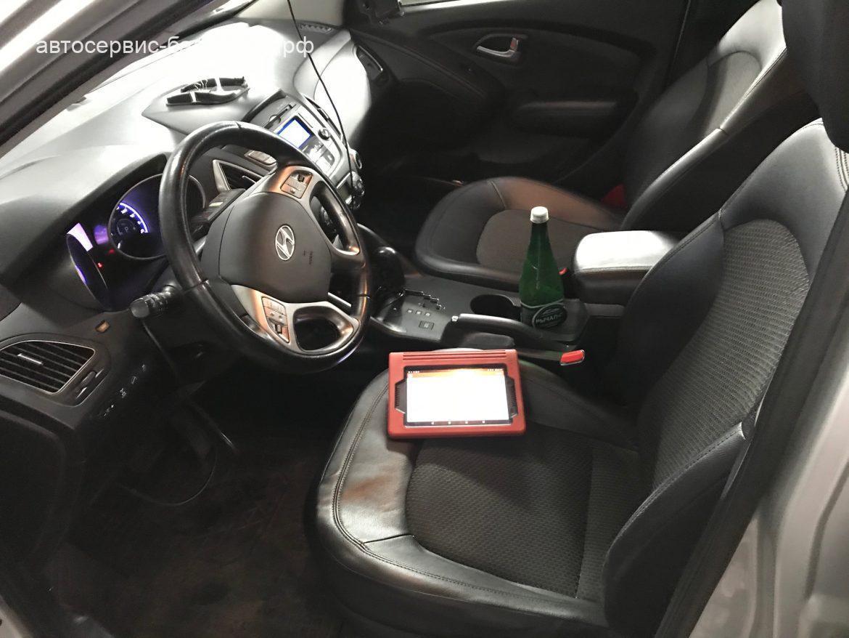 Hyundai IX35 CRD компьютерная диагностика