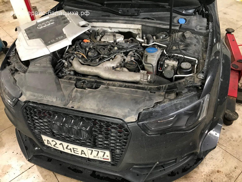 Audi A3 3.0TDi компьютерная диагностика и замена датчика коленвала
