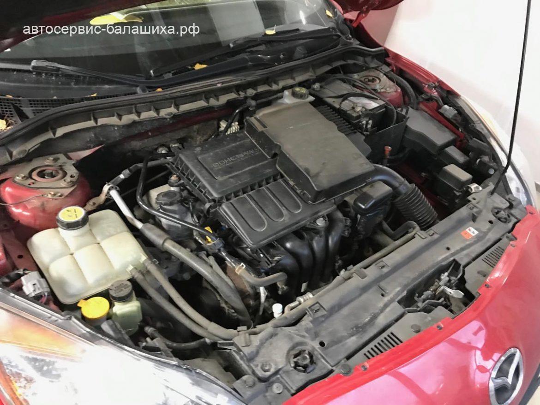 Mazda 3 демонтаж старой и установка новой сигнализации