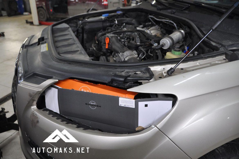 AUDI Q7 3.0 TDI 2012 ремонт двигателя и устранение течи масла