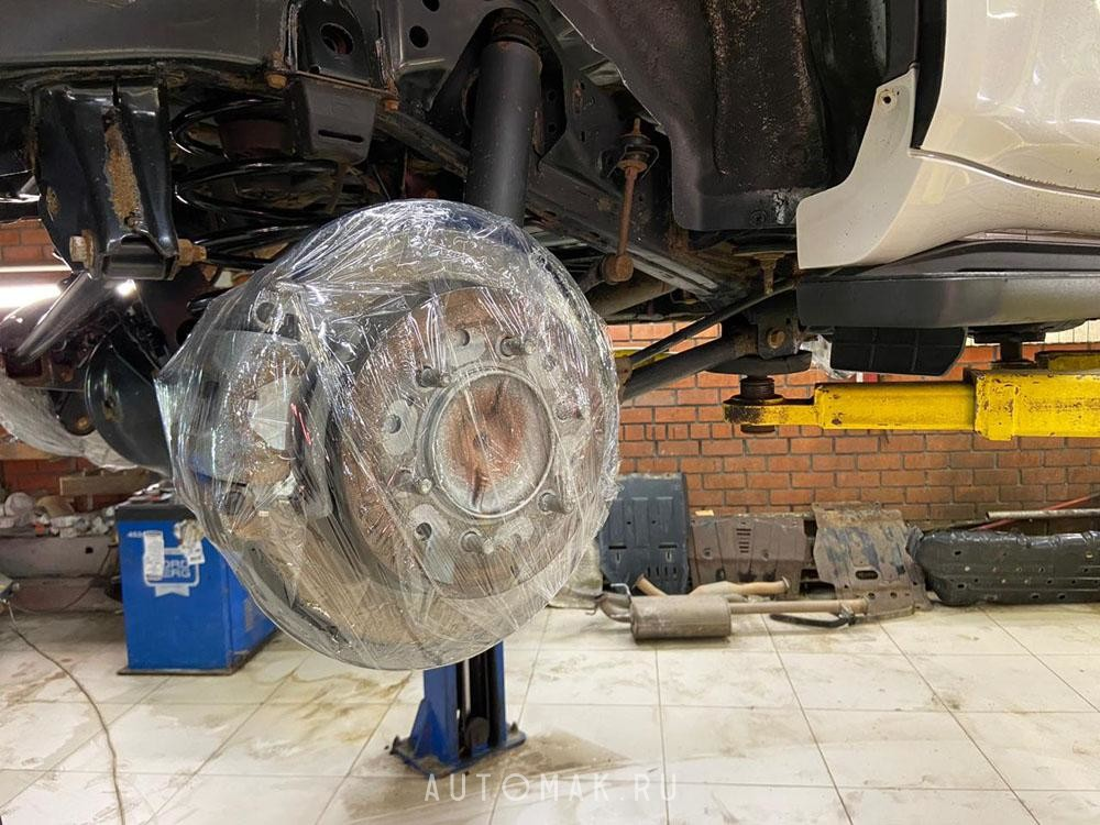Toyota Land Cruiser Prado 2017 2.8D антикоррозийная обработка кузова и рамы