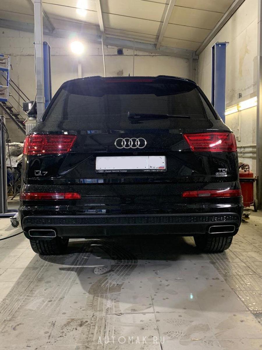 AUDI Q7 2017 4M 3.0D Антихром