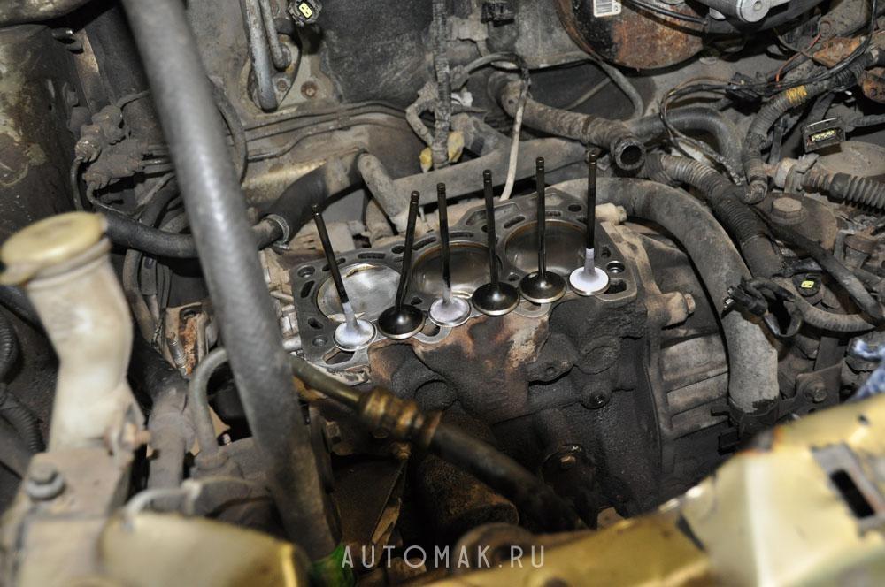 Daewoo Matiz 0.8L 2006 ремонт ГБЦ
