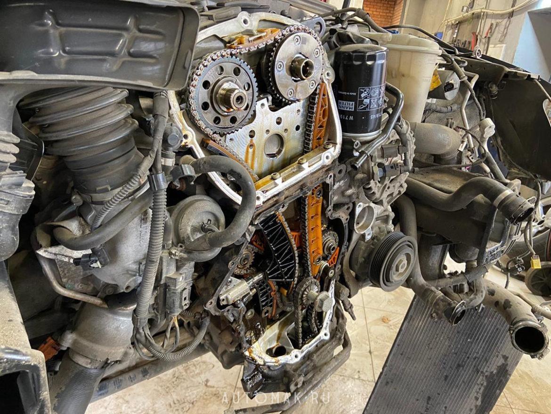 Audi A4 allroad quattro 2.0 TFSI 2012 замена комплекта цепей ГРМ