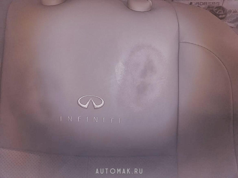 INFINITI FX37S 2012 восстановление кожи салона