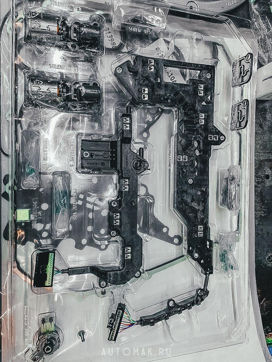 Audi A4 Allroad 2.0 турбо TFSI ремонт коробки S-Tronic