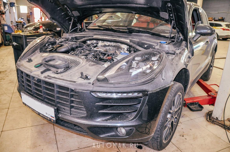 Porsche Macan S комплексное ТО