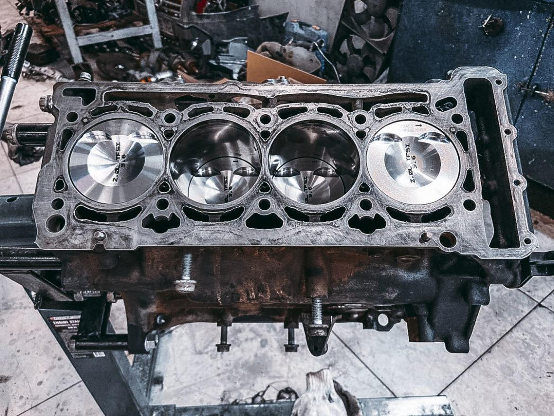 2009 Audi A4 1.8 TFSI ремонт двигателя