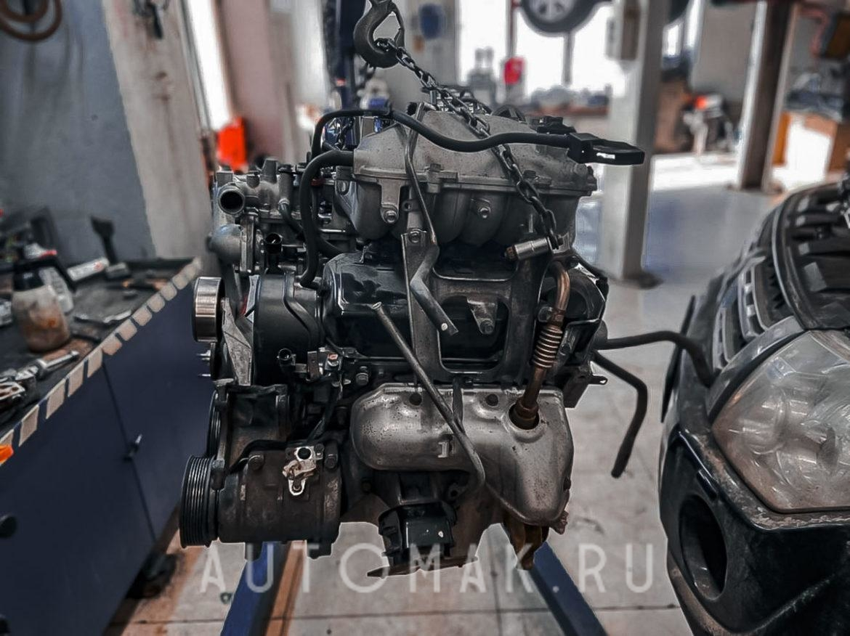 Ремонт двигателя Mitsubishi Pajero IV 2012 3.0L