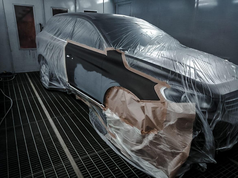 Volvo XC60 2014 2.4d AT кузовной ремонт