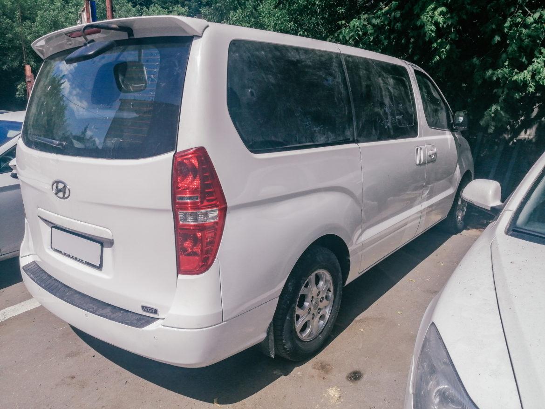 Hyundai Starex 2012г кузовной ремонт