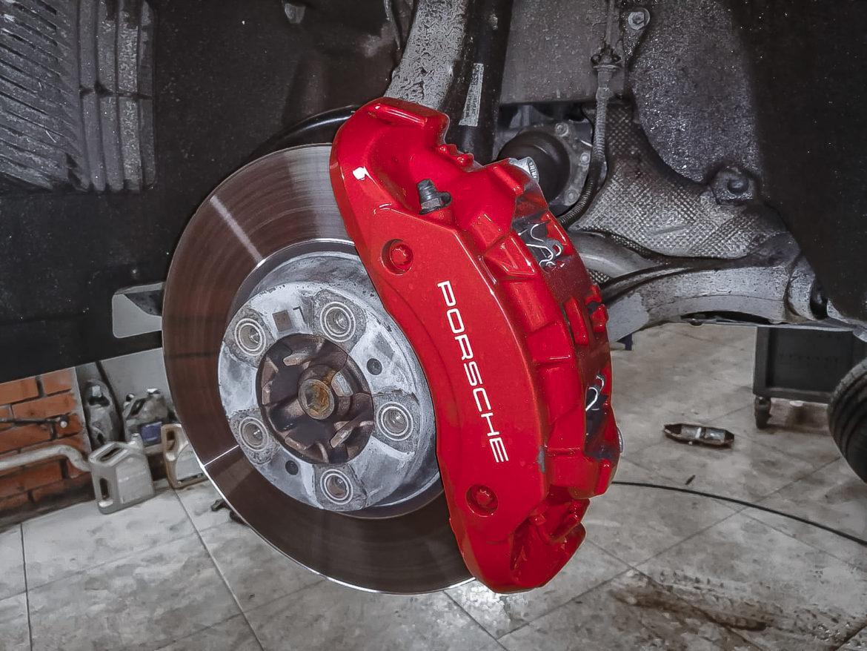 Техническое обслуживание Porsche Cayenne III